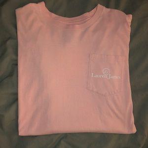 Lauren James Light Pink T-Shirt
